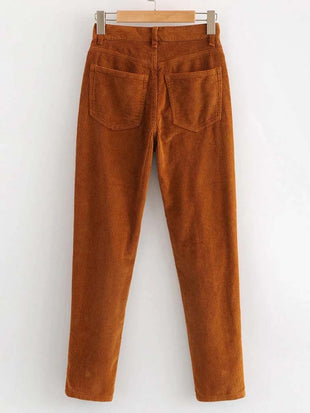 Women's Pure Color Slim Pants