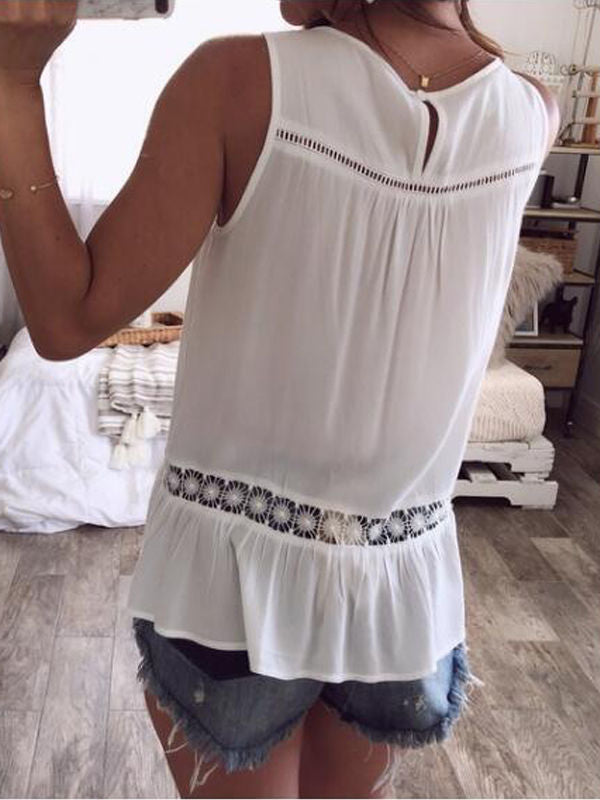 Fashion Hollow Women's Vest