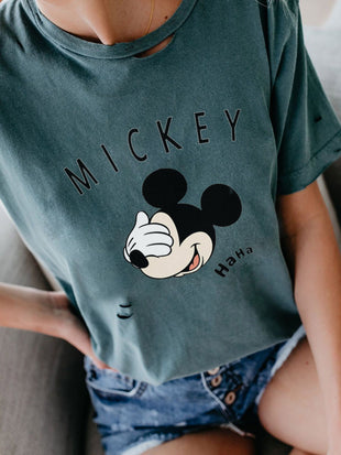 Mickey Mouse Short Sleeve T-shirt