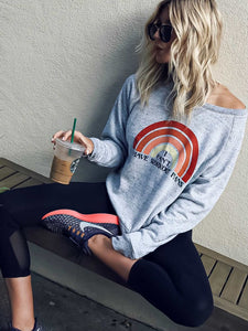 Rainbow Workout Plans Sweatshirts