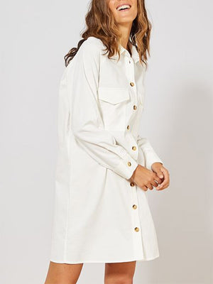 Women's Collar Straight Casual Coat