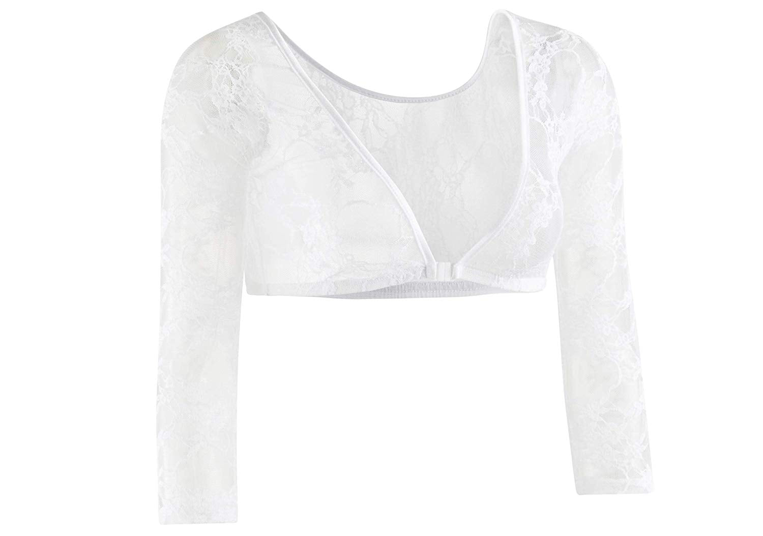Half lace versatile clothing