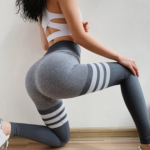 High waist slim stretch yoga pants