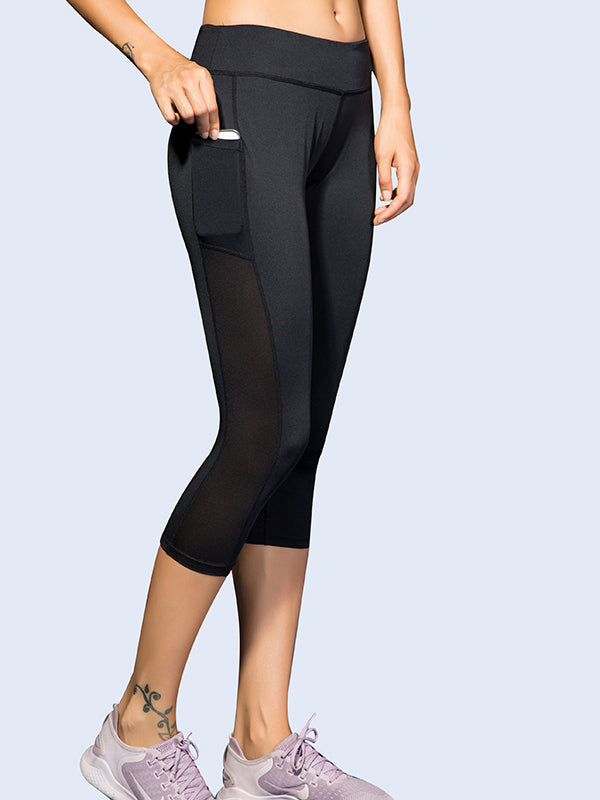 Cropped Pocket Yoga Pants