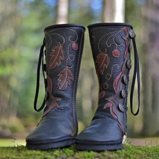 New Casual Comfortable Handmade Leather Boots