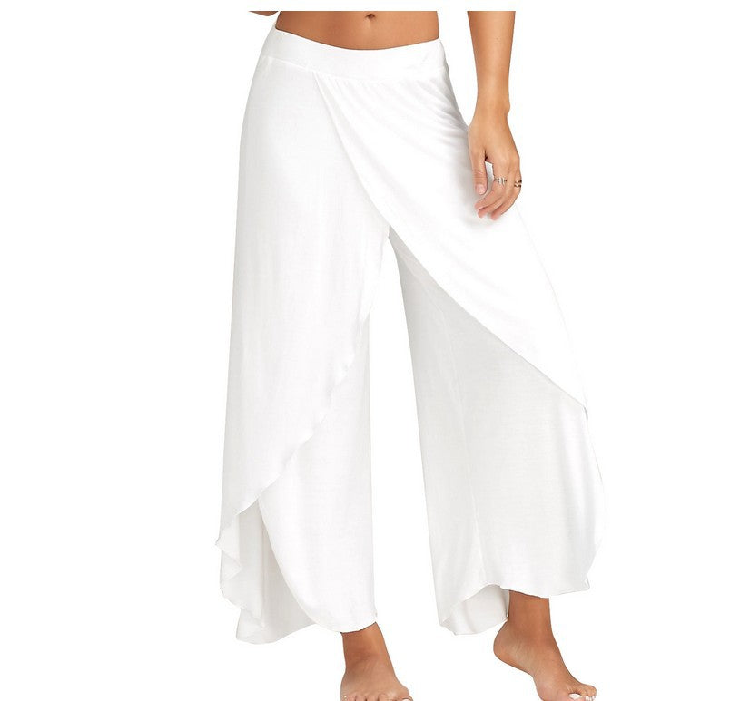 Yoga pants wide leg pants