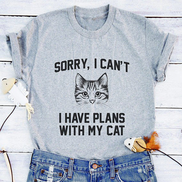 I can't I have plans shirt