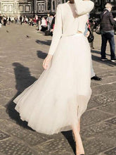 Load image into Gallery viewer, Elegant Noble Fashion Casual Vacation High Waist Bouffant Long Skirt