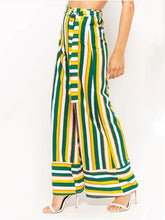 Load image into Gallery viewer, Colorful Striped Wide-Leg Pants