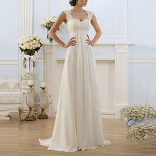 Load image into Gallery viewer, Sexy Elegant White Sleeveless Evening Dress
