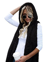 Load image into Gallery viewer, Sleeveless Hoodies Cashmere Vest