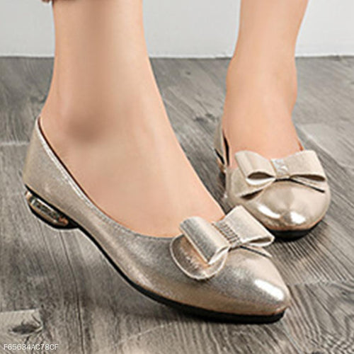 Low Heeled  Point Toe  Date Comfort Flats