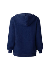 Load image into Gallery viewer, Women's Fashion Round Neck Tether Long Sleeve Blouse Sweater