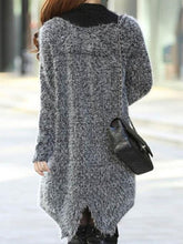Load image into Gallery viewer, Elegant Fashion Slim Plain Long Sleeve Long Cardigan