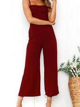 Load image into Gallery viewer, Sexy Casual Sleeveless Zipper Jumpsuit