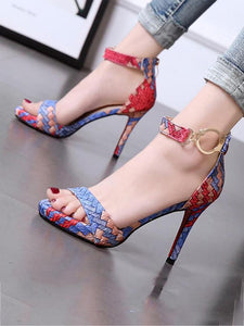 Stiletto Platform High Heels