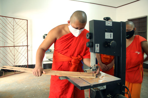 Supporting education and the Buddhist Heritage Project