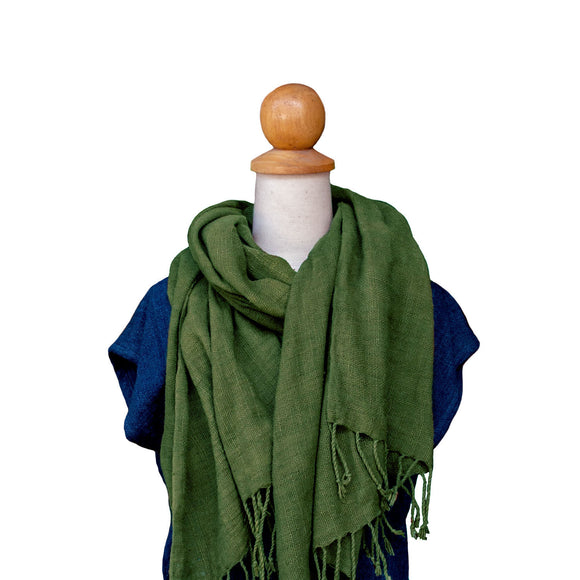 Loose Weave Cotton Scarf