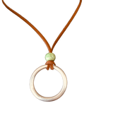 UXO Recycled Ring Necklace