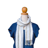 Double Narrow Cotton Scarf