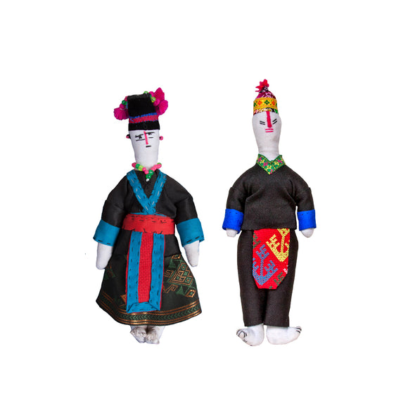 Hmong People Dolls