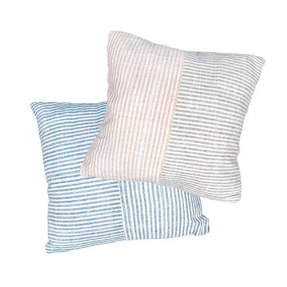 Tai Leu Two-way Stripe, Cotton Cushion Covers