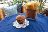Bamboo Baskets with Lids