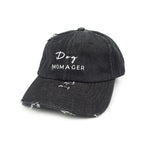 Dog Momager Hat // Black Denim