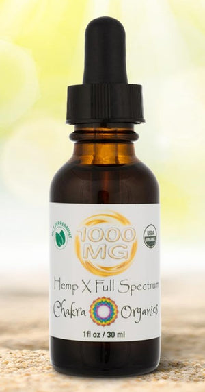1000mg Tincture - Peppermint MCT