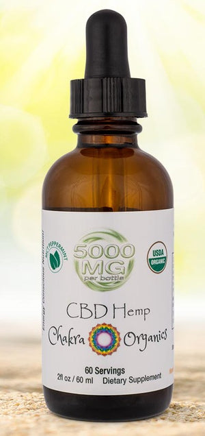 5000mg Tincture - Peppermint MCT