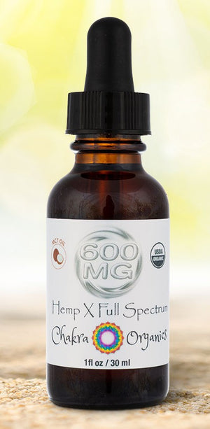 600mg Tincture - MCT Oil