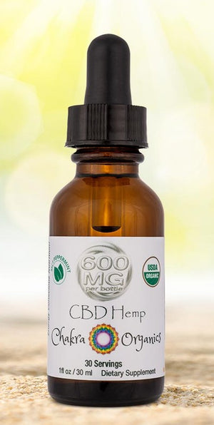 600mg Tincture - Peppermint MCT