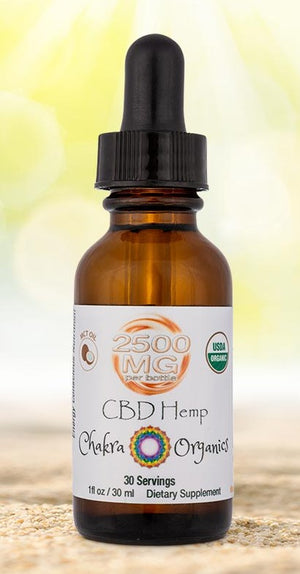 2500mg Tincture - MCT Oil