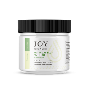 Premium CBD Gummies - Green Apple Joy Organic