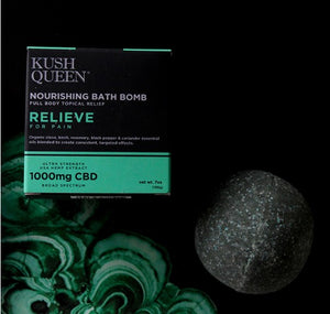 Relieve 1000mg CBD Bath Bomb - on sale until November 1