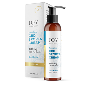400mg Joy Organic CBD Cool Menthol Sports Cream