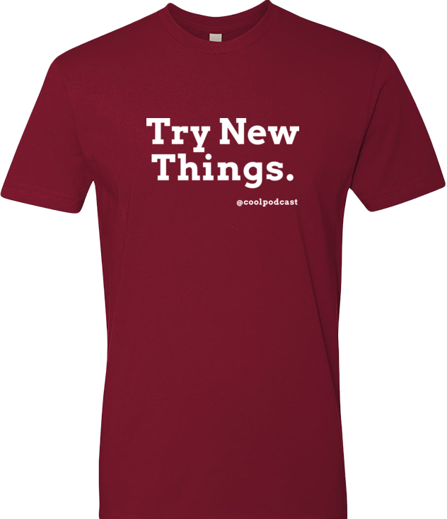 Try New Things — Men's T-Shirt