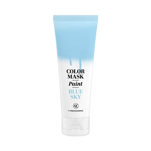 Color Mask Paint Sky Blue