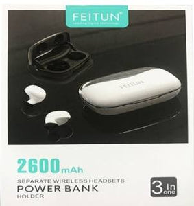FONE BLUETOOTH FEITUN FH0260 E POWER BANK