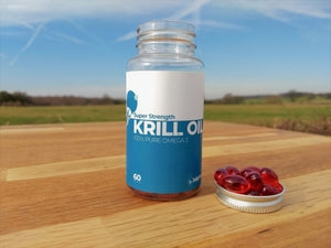 100% Pure Omega-3 - JellyFish Super Strength Krill Oil 500mg