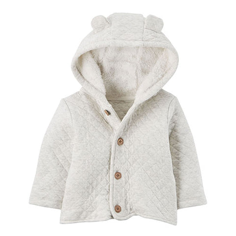Carter's hoodie jacket off white