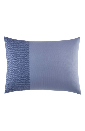 Vera Wang Chevron Cotton Pique Decorative Pillow, 15 x 20
