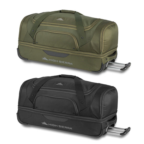 High Sierra 76cm Drop-Bottom Wheeled Rolling Duffel Bag
