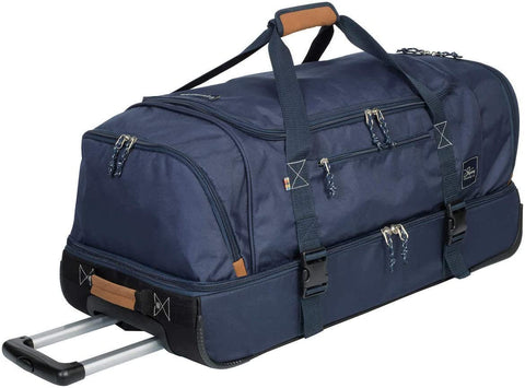 The Skyway Luggage Globe Trekker 2 Compartment Rolling Duffel Bag