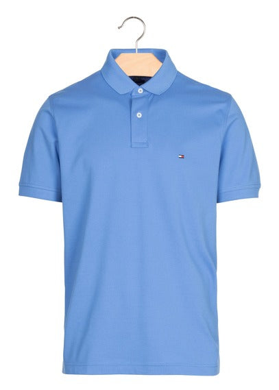 TOMMY HILFIGER Regular-fit polo shirt Blue 8/10years