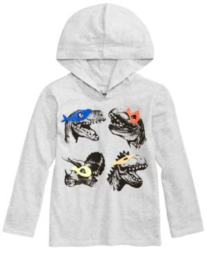 Epic Threads Graphic-Print Hooded T-Shirt, Toddler Boys (2T-5T), Created for Macy's