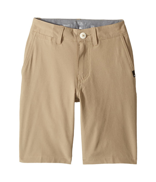 Quiksilver Kids - Union Amphibian Shorts color beige 22 waist