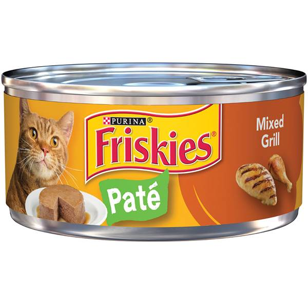 Purina, friskies classic pate, cat food