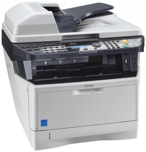 Ecosys - Kyocera 1102PN2US0 ECOSYS M2535dn Black and White Multifunctional Network Printer; Standard Print, Copy, Fax and Color Scan; Fast Output Speed of 37 Pages per Minute; Resolution 600 x 600 dpi