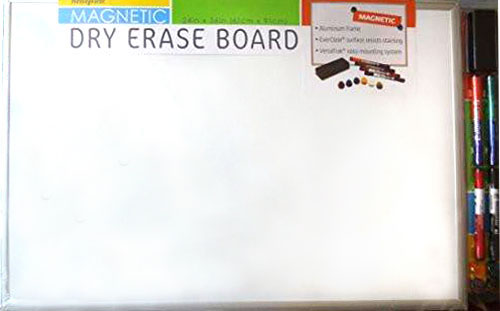 Message Tore Magnetic Dry Erase Board
